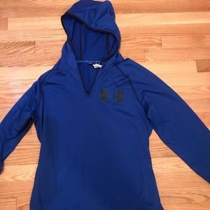 Royal blue Under Armour sweatshirt